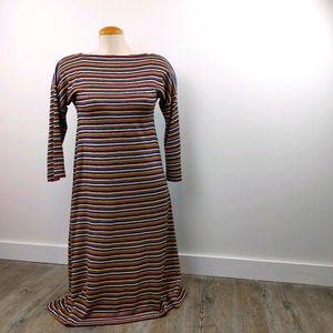 MISS RENFREW by HOLT RENFREW|VINTAGE STRIPED DRESS